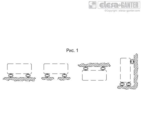 Демпфер вибраций проволочного троса AVC-6 рисунок
