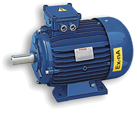 Искробезопасные электродвигатели EEX-NA