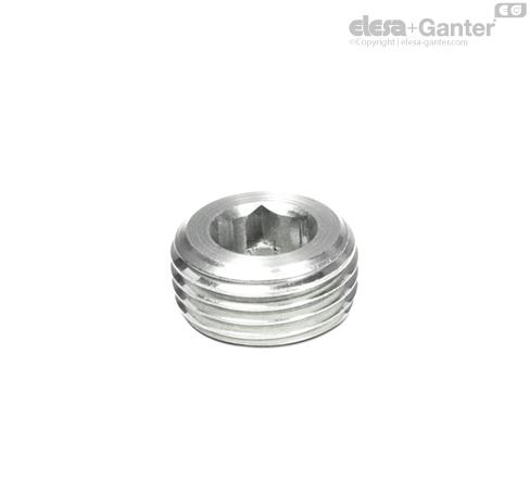 Резьбовые заглушки DIN 906-NI