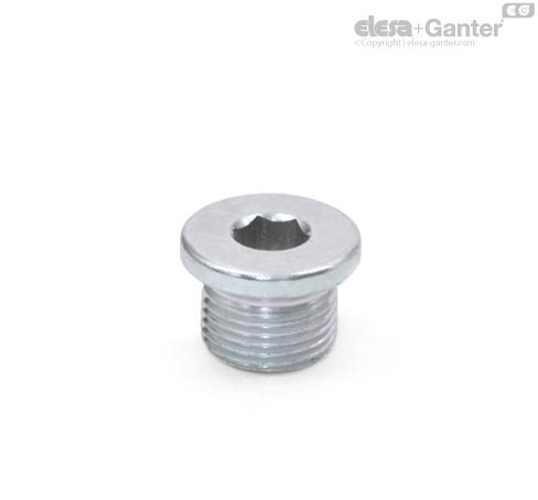 Резьбовые заглушки DIN 908