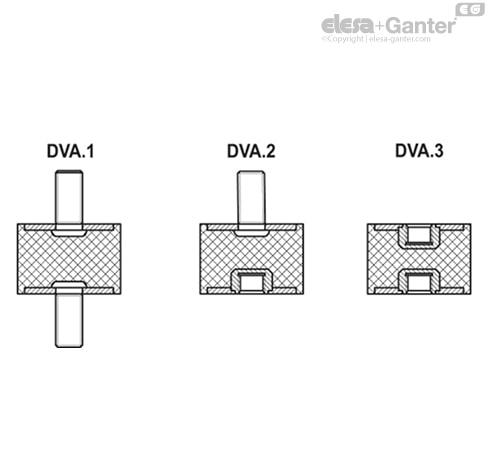 Виброгасители DVA.1 чертеж 2