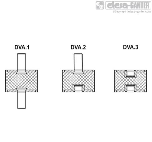 Виброгасители DVA.3 чертеж 2
