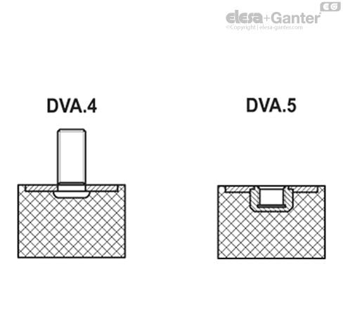 Виброгасители DVA.4 чертеж 2