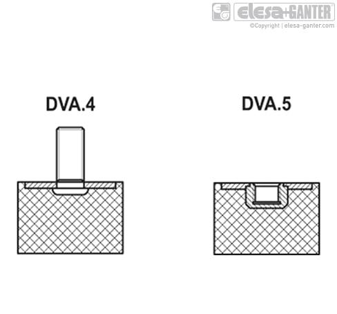 Виброгасители DVA.5 чертеж 2