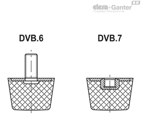 Виброгасители DVB.6 чертеж 2