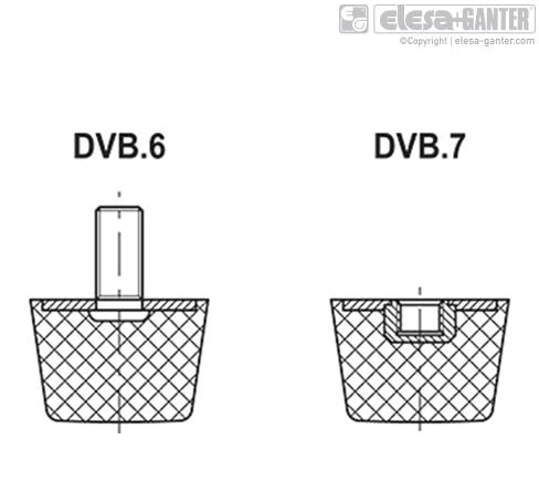 Виброгасители DVB.7 чертеж 2