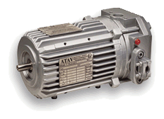 Взрывозащищенные электродвигатели с электромагнитным тормозом