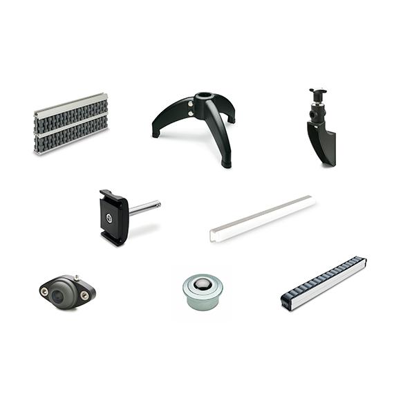 Конвейерные компоненты, Elesa+Ganter, промышленная фурнитура Elesa+Ganter