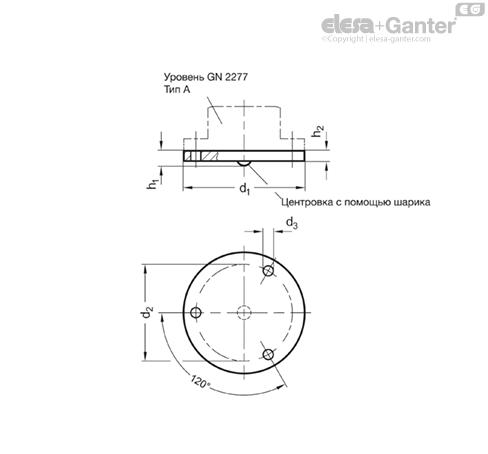 Регулировочные пластины GN 2277.1