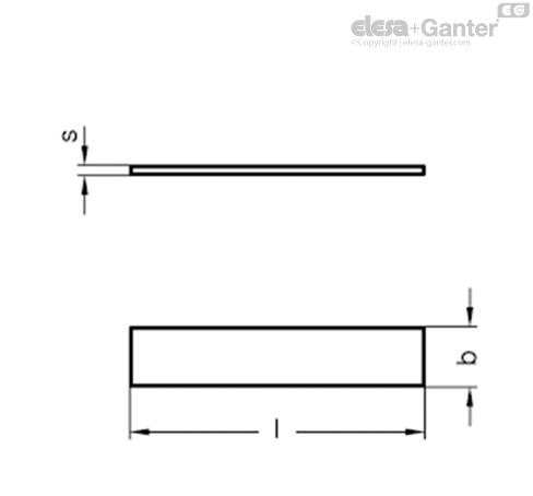 Плоские пружины GN 374