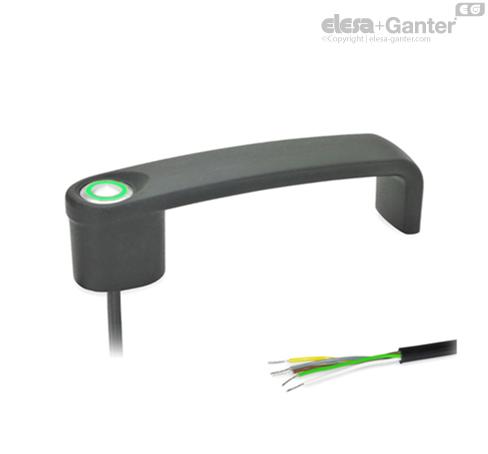П-образные ручки для ящиков и шкафов GN 422