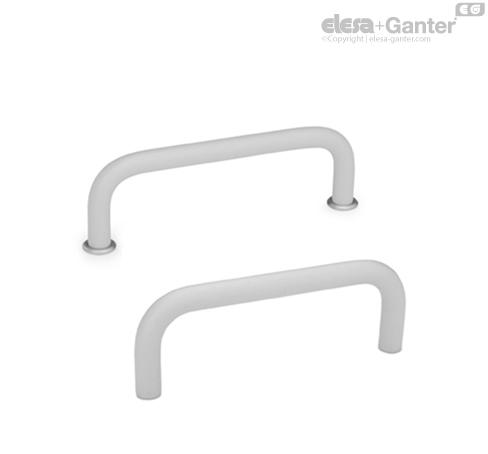 П-образные ручки для ящиков и шкафов GN 425-AL