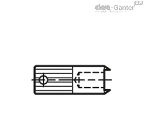 Монтажные инструменты GN 713.1 для GN 713  чертеж