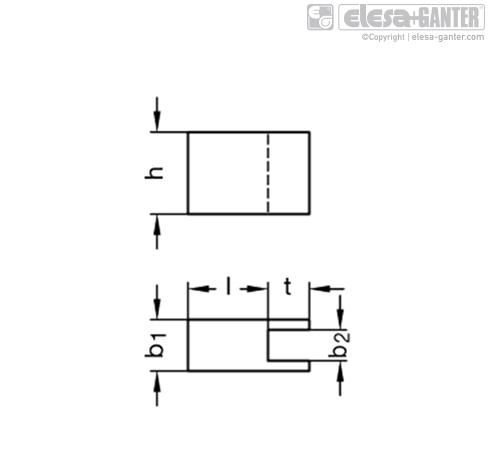 Удлинения прихвата GN 910.7 рисунок 1