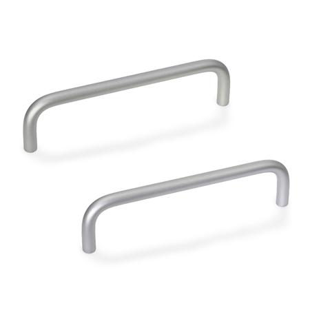 """Ручки """"П""""-образные для ящиков и шкафов Elesa+Ganter"""