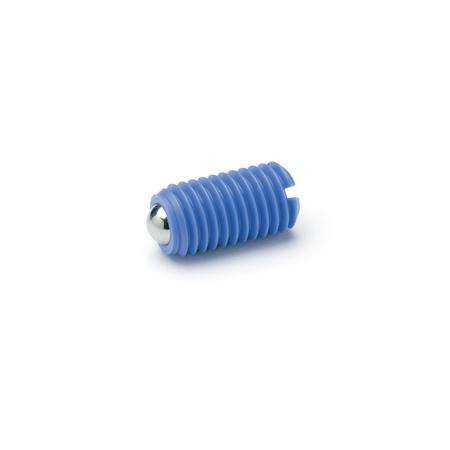 Пластиковые пружинные фиксаторы GN 615.2 elesa ganter