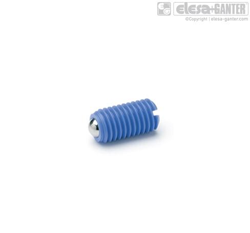Пластиковые пружинные фиксаторы GN 615.2