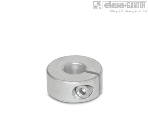 Полуразрезные установочные кольца GN 706.2-AL