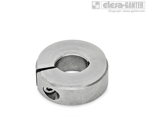 Полуразрезные установочные кольца из нержавеющей стали GN 7062.3