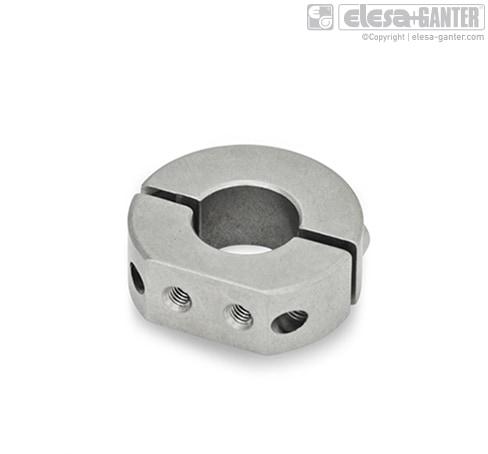 Разрезные установочные кольца из нержавеющей стали GN 7072.1
