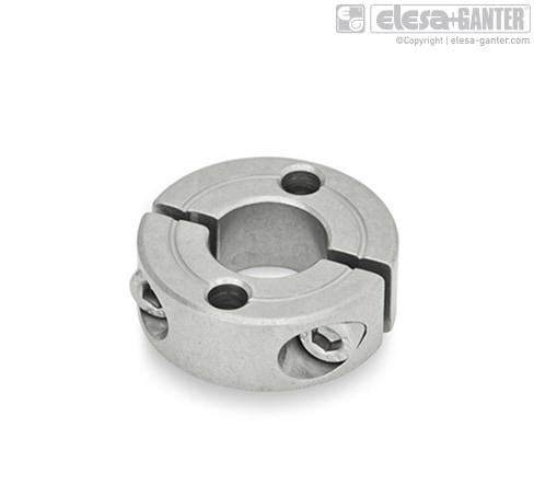 Разрезные установочные кольца из нержавеющей стали GN 7072.2