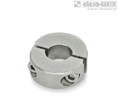 Разрезные установочные кольца из нержавеющей стали GN 7072.3
