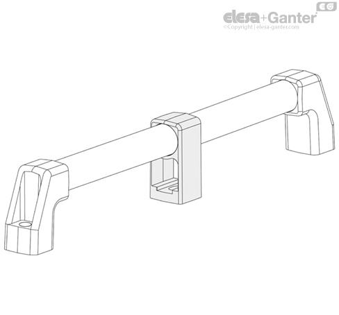Трубчатые ручки для электрической изоляции M.1043-HEI