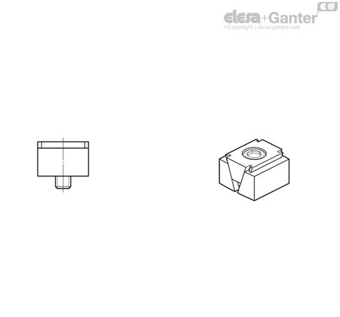 Клиновые зажимы GN 920.1 рисунок 3
