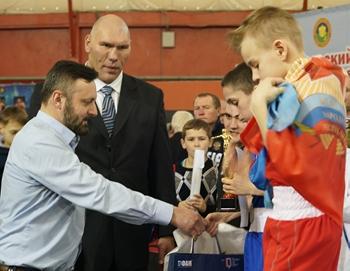 ФАМ на турнире Николая Валуева