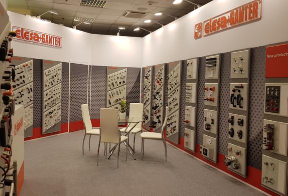 Промышленная фурнитура Элеза Гантер на выставке Иннопром 2018