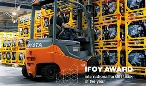 Bonfiglioli и Toyota награждены премией