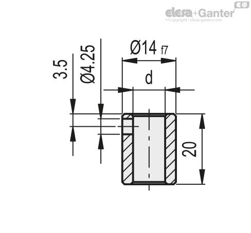 Переходная втулка для DD51 RB51