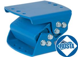 Антивибрационные опоры Rosta для промышленного оборудования