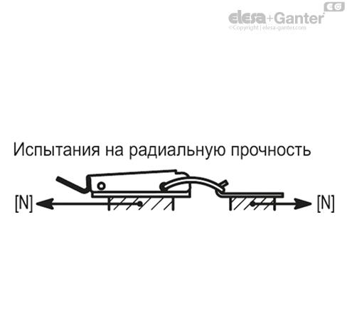 Замки натяжные с крюком TLE. чертеж 2