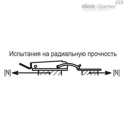 Регулируемые натяжные замки с крюком TLP. чертеж 2