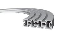 Изогнутый алюминиевый конструкционный профиль