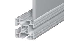 Алюминиевый профиль с пазами